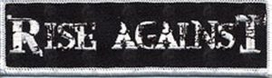 RISE AGAINST - Logo Embroidered Patch - 1