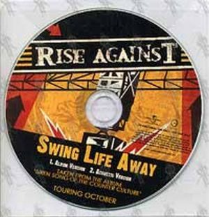RISE AGAINST - Swing Life Away - 1