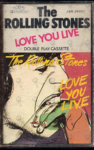 ROLLING STONES - Love You Live - 1