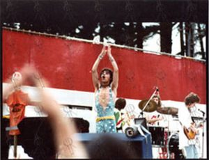 """ROLLING STONES - Original 8""""x10"""" Live Colour Photo From New Zealand 1973 #1 - 1"""