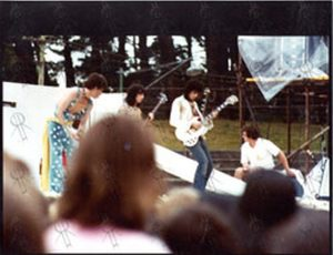 """ROLLING STONES - Original 8""""x10"""" Live Colour Photo From New Zealand 1973 #2 - 1"""