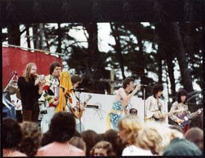 """ROLLING STONES - Original 8""""x10"""" Live Colour Photo From New Zealand 1973 #3 - 1"""
