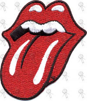 ROLLING STONES - 'Tongue' Embroidered Patch - 1