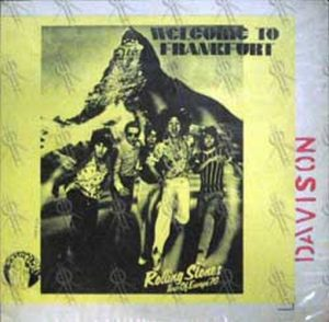 ROLLING STONES - Welcome To Frankfurt: Tour Of Europe '76 - 1