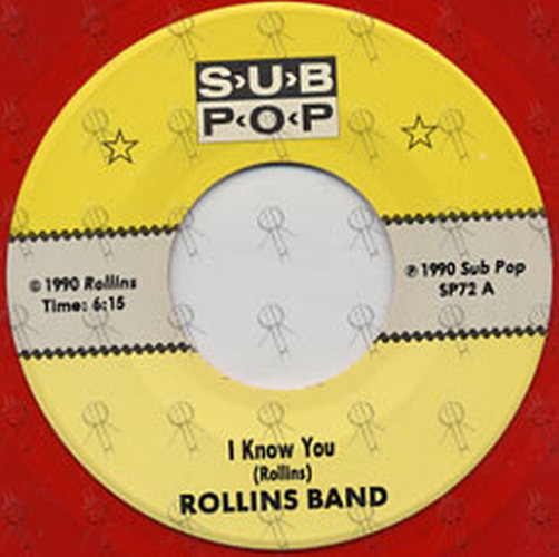 ROLLINS BAND - I Know You - 4