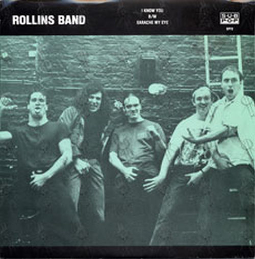 ROLLINS BAND - I Know You - 1