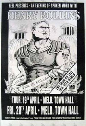 ROLLINS-- HENRY - 'Melb. Town Hall