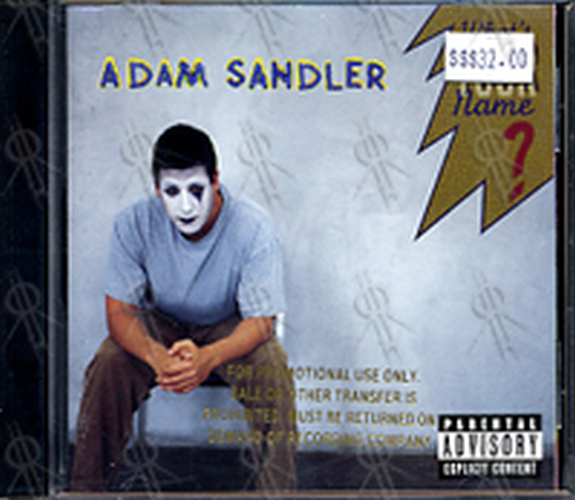 SANDLER-- ADAM - What's Your Name - 1