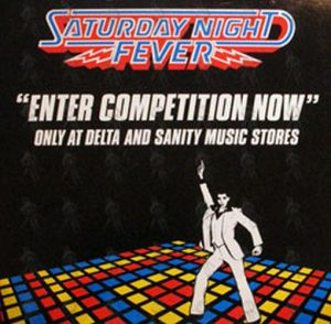 SATURDAY NIGHT FEVER - Double Sided Promo Flat - 1