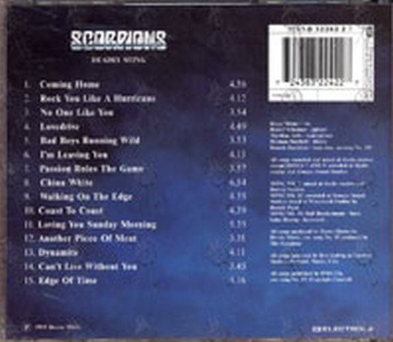 SCORPIONS - Deadly Sting - 2