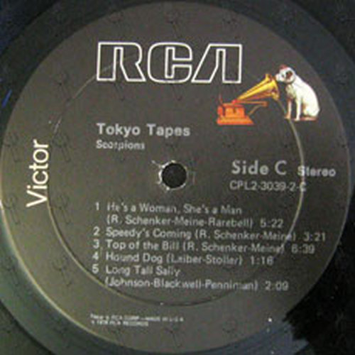 SCORPIONS - Tokyo Tapes - 5