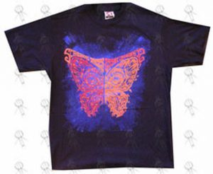 SCREAMING TREES-- THE - Black 'Butterfly' Design T-Shirt - 1