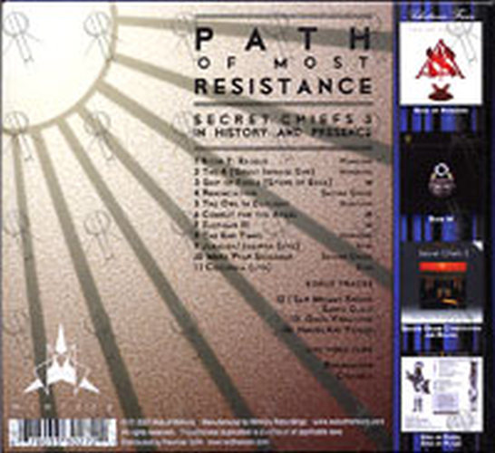 SECRET CHIEFS 3 - Path Of Most Resistance: Secret Chiefs 3 In History And Presence - 2