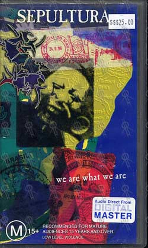 SEPULTURA - We Are What We Are - 1