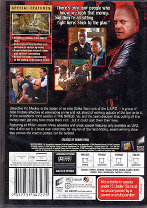 SHIELD-- THE - The Complete Third Season - 2