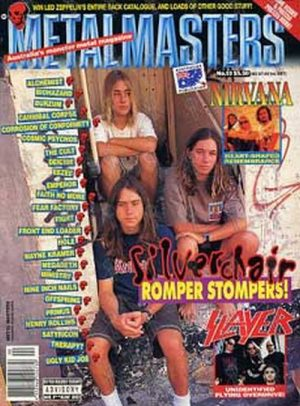 SILVERCHAIR - 'Metal Masters' - Silver Chair On Front - 1