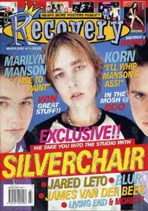 SILVERCHAIR - 'Recovery' - March Issue Number 7 - Silverchair On The Cover - 1