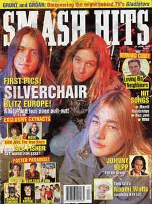 SILVERCHAIR - 'Smash Hits' - June 1995 - Silverchair On The Cover - 1