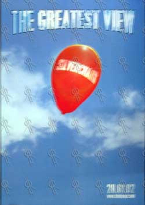 SILVERCHAIR - 'The Greatest View' CD Single Poster - 1