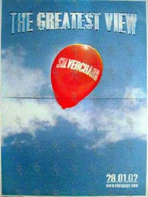 SILVERCHAIR - 'The Greatest View' Single Poster - 1