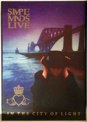 SIMPLE MINDS - 'Live In The City Of Light' - 1