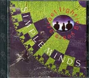 SIMPLE MINDS - Street Fighting Years - 1