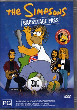 SIMPSONS-- THE - Backstage Pass - 1