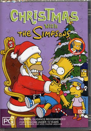 SIMPSONS-- THE - Christmas - 1