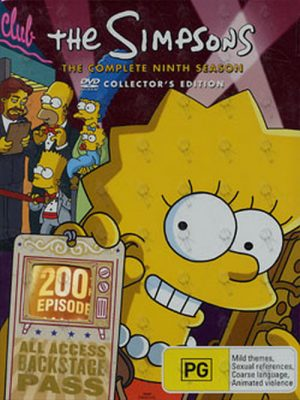 SIMPSONS-- THE - The Complete Ninth Season - 1