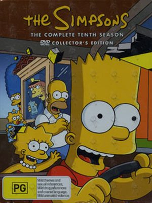 SIMPSONS-- THE - The Complete Tenth Season - 1