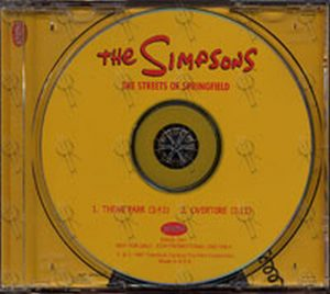 SIMPSONS-- THE - The Streets Of Springfield - 1