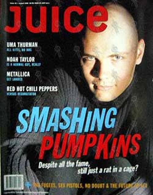 SMASHING PUMPKINS-- THE - 'Juice' - August 1996 - Billy Corgan On Cover - 1