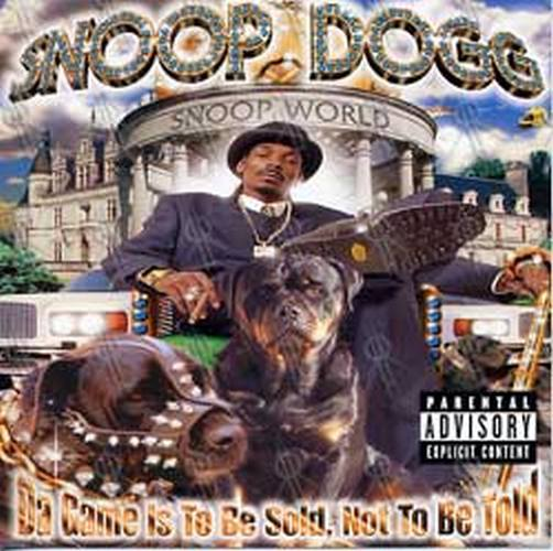 SNOOP DOGGY DOGG - 'Da Game Is To Be Sold