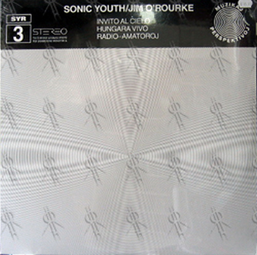 SONIC YOUTH - SYR 3 (With Jim O'Rourke) - 1