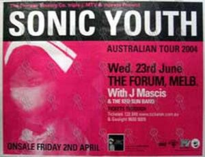SONIC YOUTH - 'The Forum