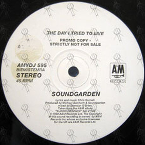 SOUNDGARDEN - The Day I Tried To Live - 2