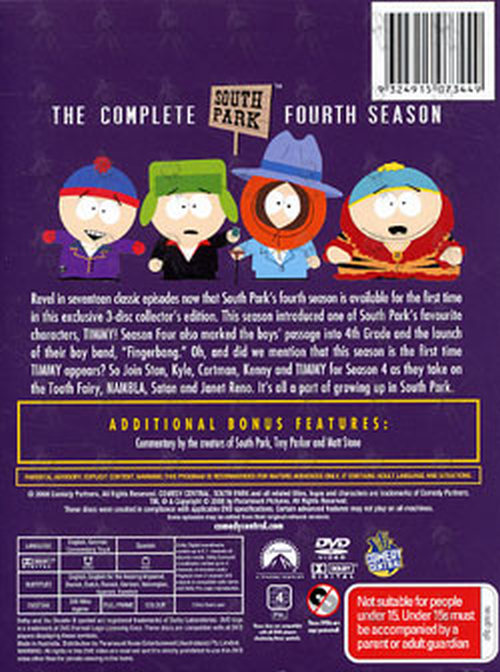 SOUTH PARK - The Complete Fourth Season - 2
