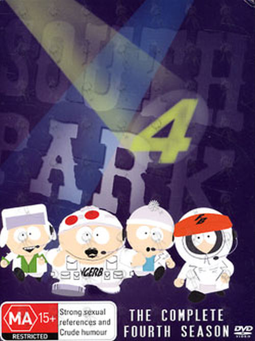 SOUTH PARK - The Complete Fourth Season - 1