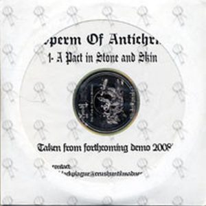 SPERM OF ANTICHRIST - A Pact In Stone And Skin - 1
