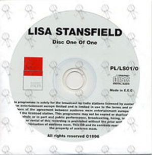 STANSFIELD-- LISA - Exclusive Live Concert Radio Special - 1