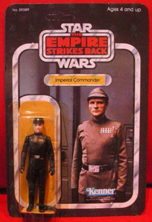 STAR WARS - 'Imperial Commander' 'Return Of The Jedi' Series Action Figure - 1