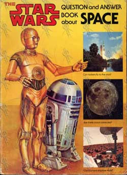 STAR WARS - Question And Answer Book About Space - 1