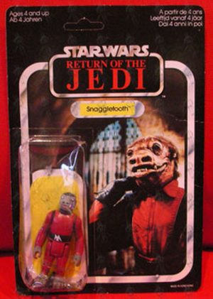 STAR WARS - 'Snaggletooth' 'Return Of The Jedi' Series Action Figure - 1