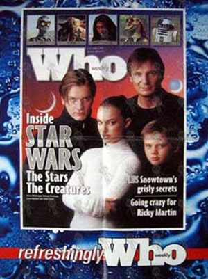 STAR WARS - 'Who Weekly' - June 1999 - Newsagent Promo - 1