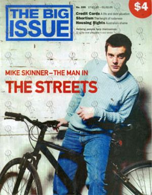 STREETS-- THE - 'The Big Issue' - January 2005 - Mike Skinner On Front - 1