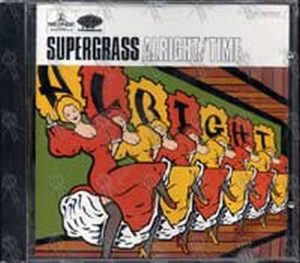 SUPERGRASS - Alright / Time - 1