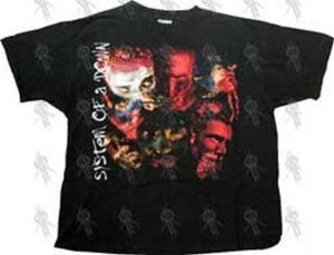 SYSTEM OF A DOWN - Black 'Advertising Causes Need' T-Shirt - 1