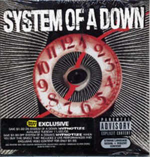 SYSTEM OF A DOWN - Hypnotize Value Added - 1