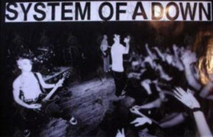 SYSTEM OF A DOWN - 'Self-Titled' Era Live Band Image Poster - 1