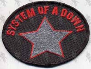 SYSTEM OF A DOWN - 'System Of A Down' Embroidered Patch - 1
